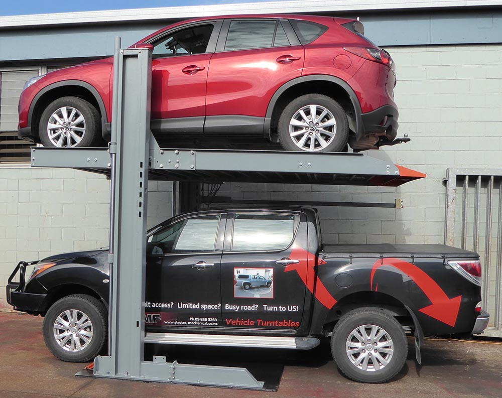 car stacker lift