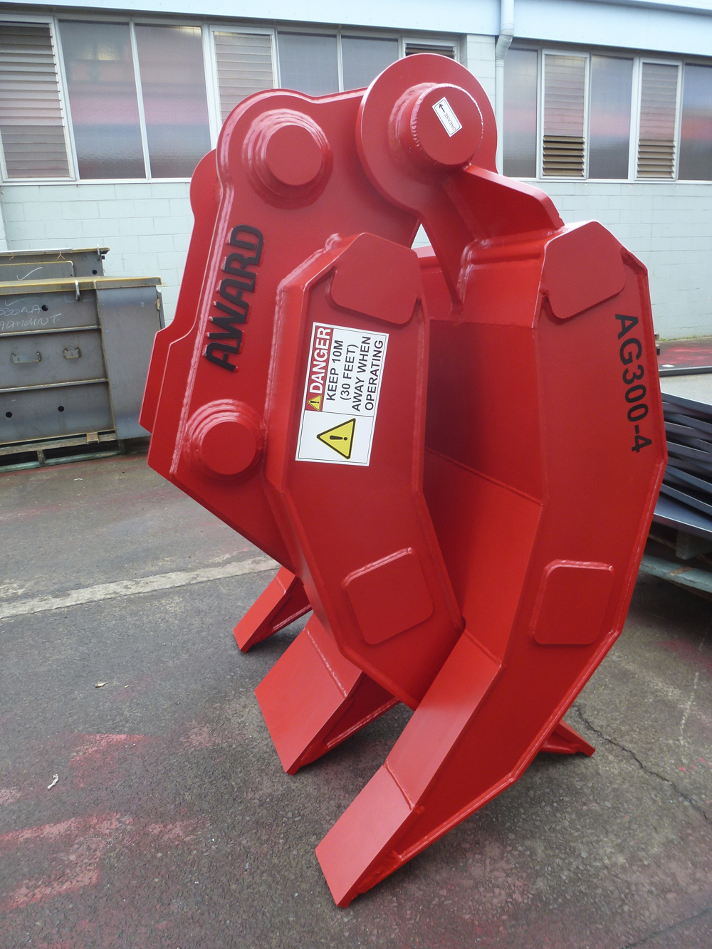 30 tonne demolition grapple