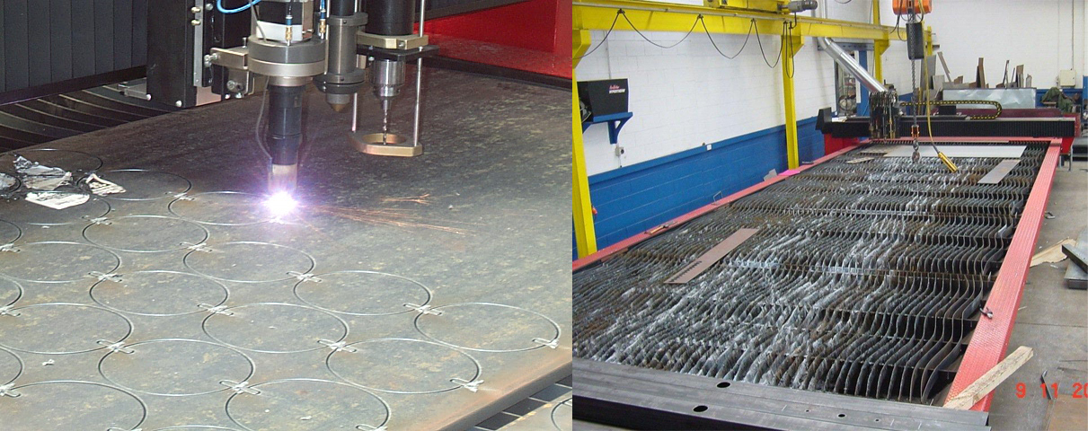 cnc plasma profile cutting machine