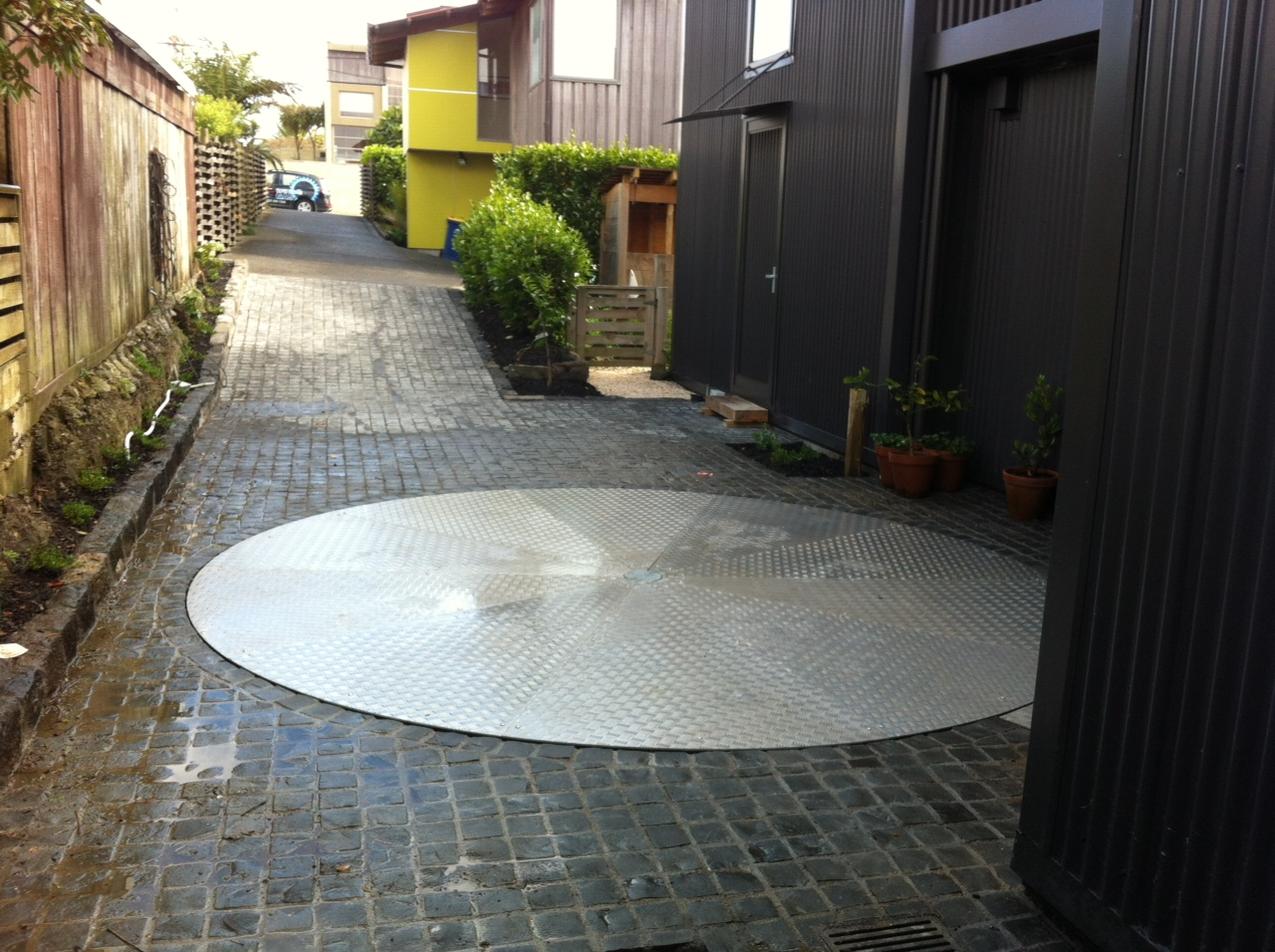 Driveway Car Turntable